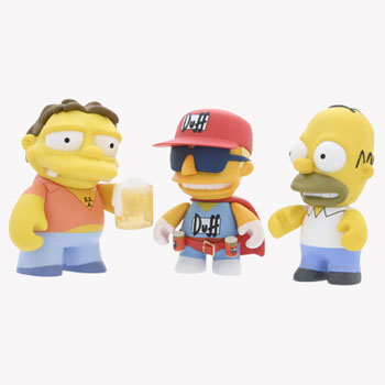 The Simpsons Mini Figures 3-Inch