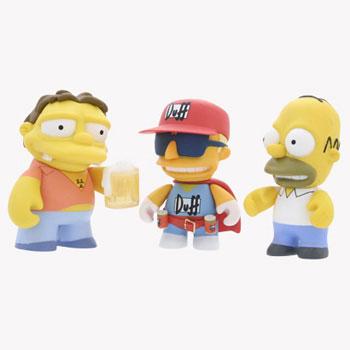The Simpsons Mini Figures 3-Inch
