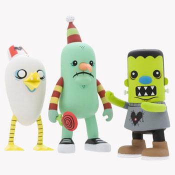 Heroes & Heartbreakers Mini Figures 3-Inch
