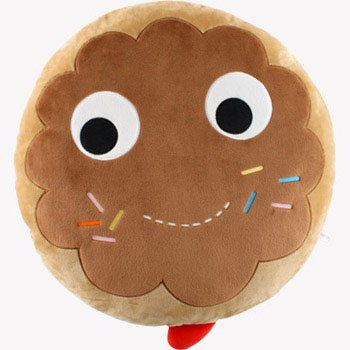 Yummy Donut Plush 24-Inch Brown Edition