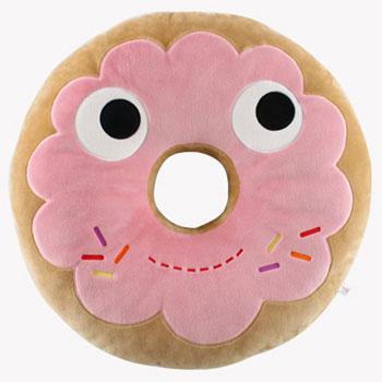 Yummy Donut Plush 24-Inch Pink Edition