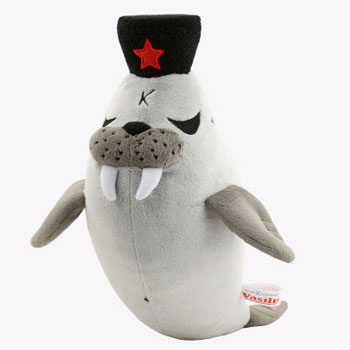 Vasily the Grumpiest Walrus Plush 16-Inch