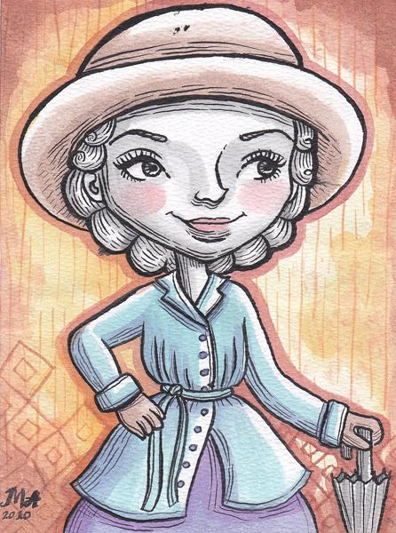 "Illustration Friday #5 ""Old-fashioned"""