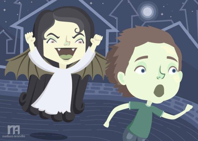 "Illustration Friday #7 ""Spooky"""