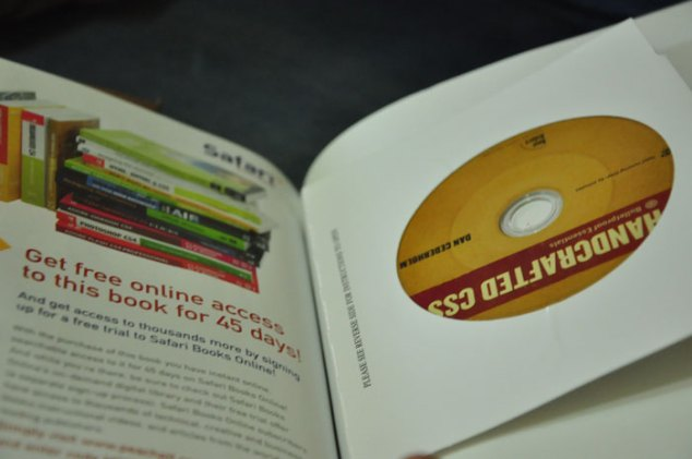 Handcrafted CSS DVD