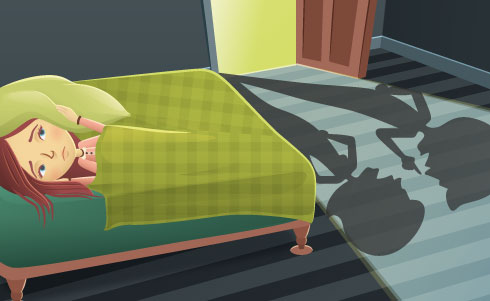 TG to the Rescue, October 2011 original illustration