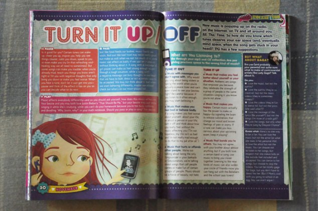 Total Girl November 2011 Music Issue