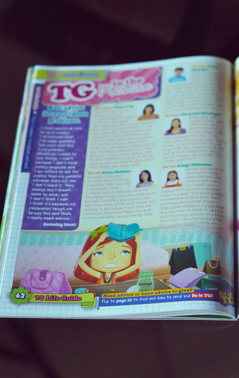 TG to the Rescue, Total GIrl Philippines
