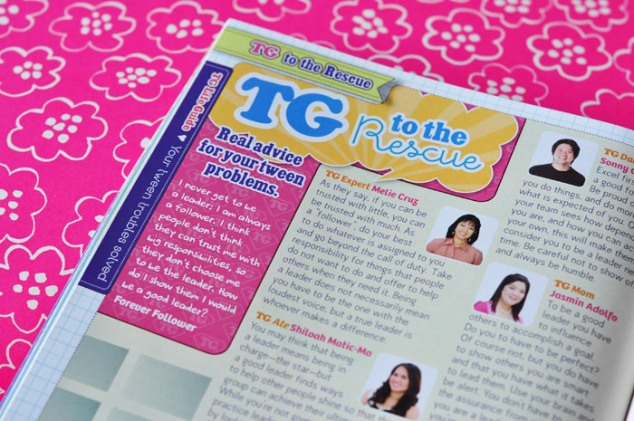 Total Girl Philippines, January 2012–TG to the Rescue