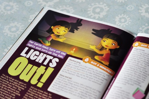 Lights Out–Total Girl Philippines, March 2012