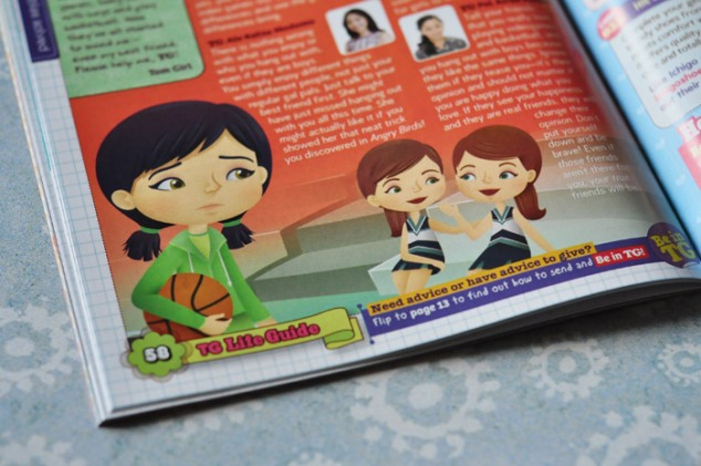 TG to the Rescue–Total Girl Philippines, March 2012