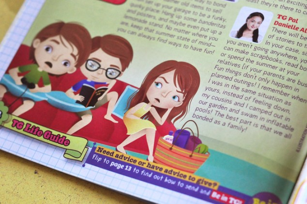 Total Girl Philippines–TG to the Rescue, April 2012