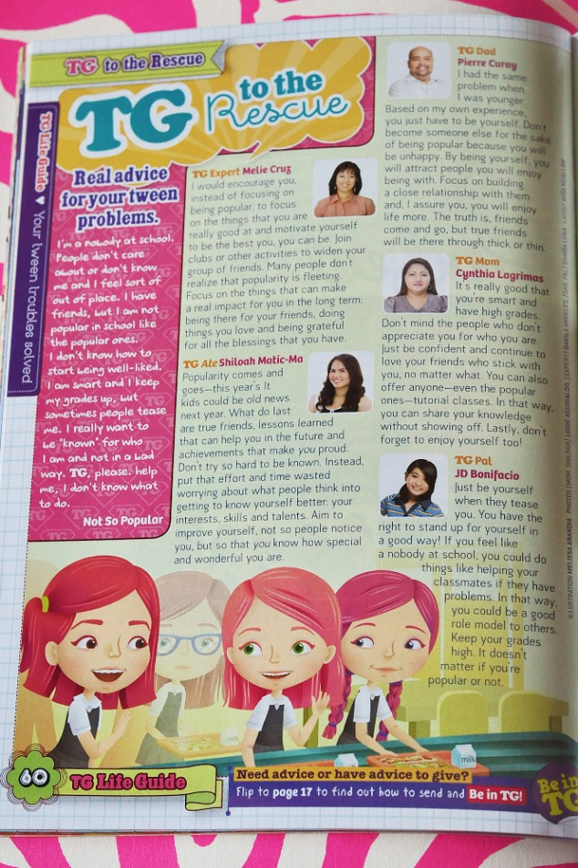 Total Girl Philippines–TG to the Rescue, June 2012