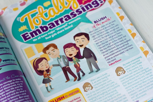 Total Girl, Oct2012 - Totally Embarrassing