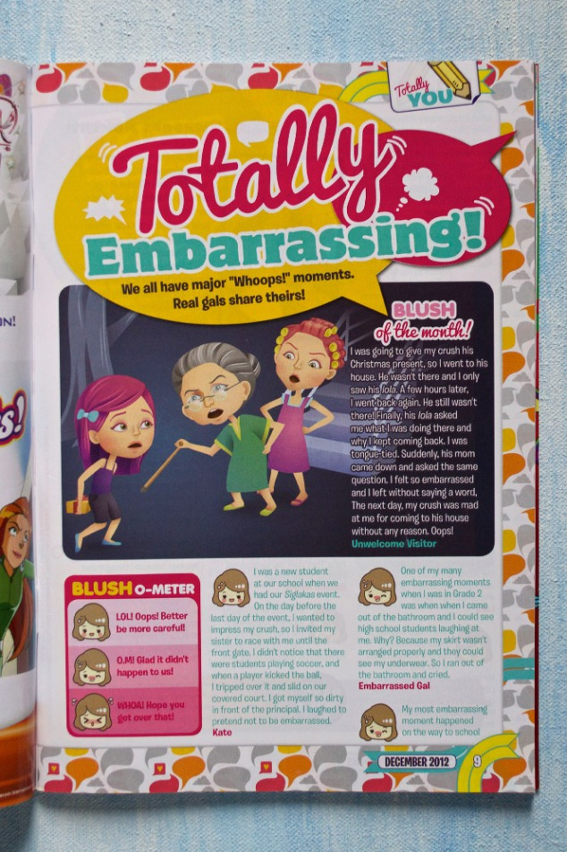 Total Girl Philippines, Totally Embarrassing