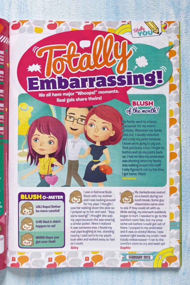 Editorial illustration – Total Girl Philippines