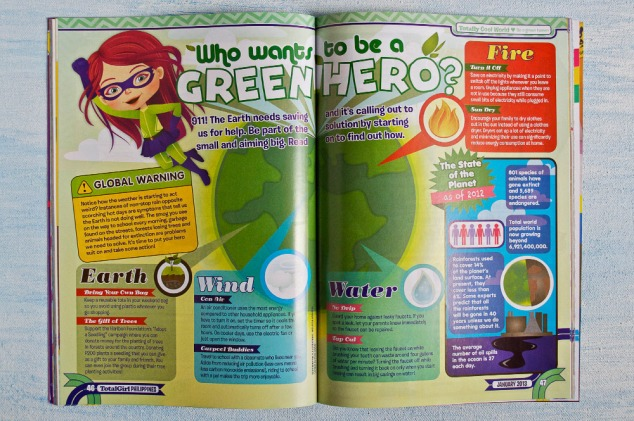 Who Wants to be a Green Hero?