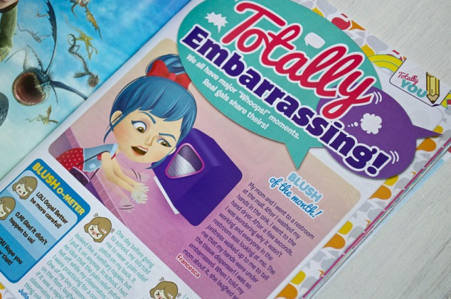 Total Girl Philippines, March 2013 issue – Totally Embarrassing