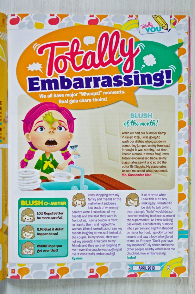 "Total Girl Philippines–""Totally Embarrassing"""