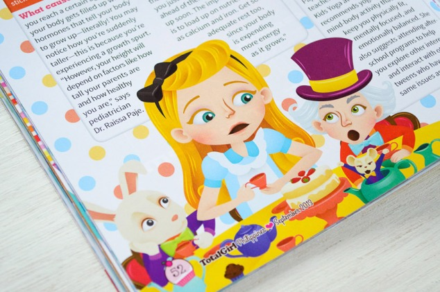 """Awkward Body Issues"", Alice-in-Wonderland-inspired illustration"