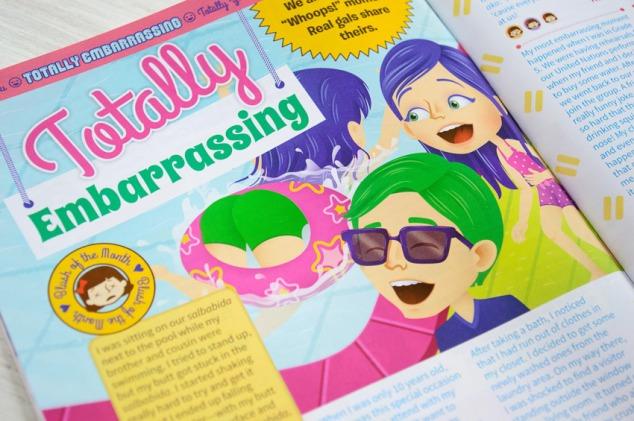 """Totally Embarrassing"" illustration"