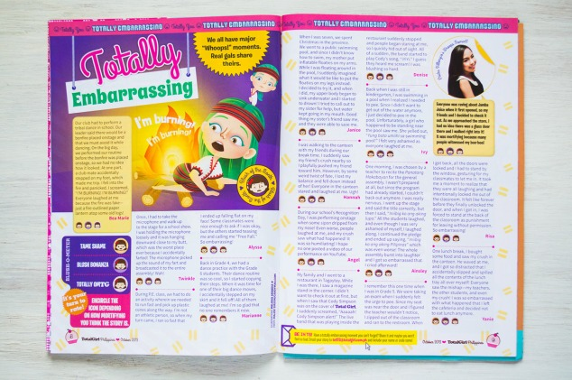"""Totally Embarrassing"", October 2013 issue"