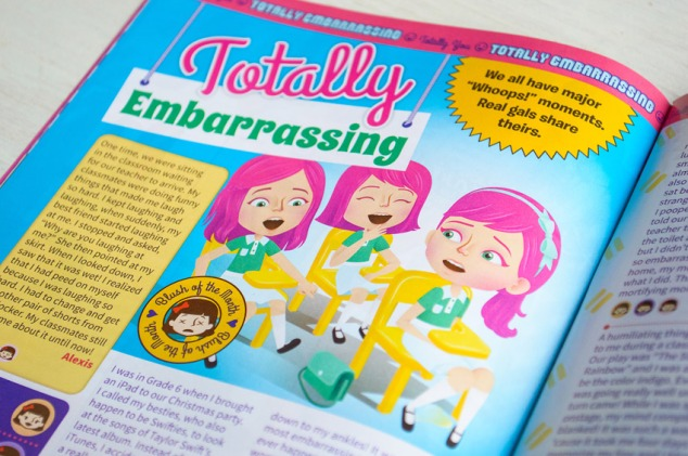 """Totally Embarrassing"" illustration"