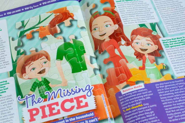 """article illustration, """"The Missing Piece"""""""