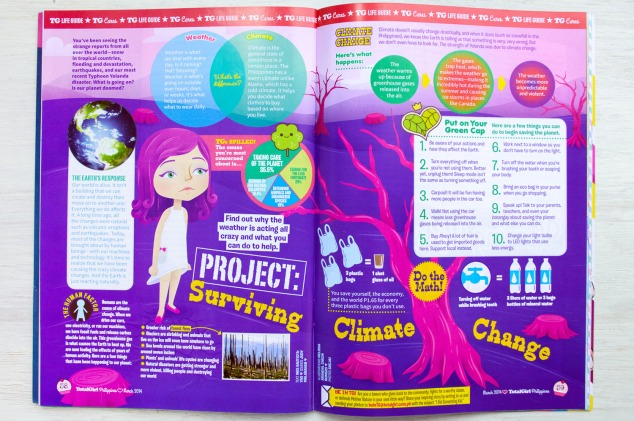 """Project: Surviving Climate Change"" whole page article illustration"