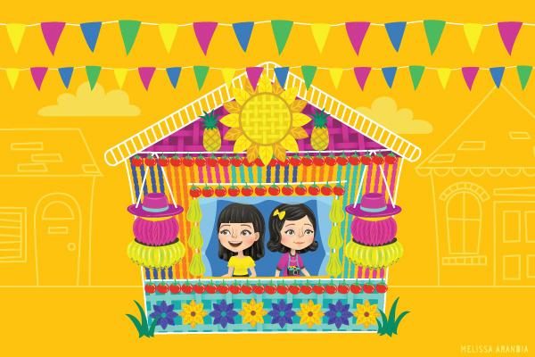 """Festival Celebration Drawing a Celebration"""""""