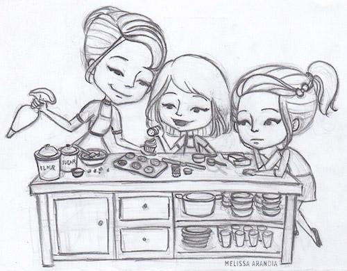"""sketch—""""Playing Favorites"""""""