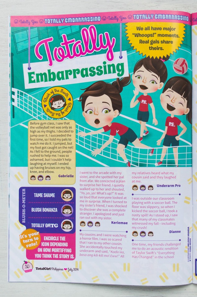 """""""Totally Embarrassing""""—July 2014"""