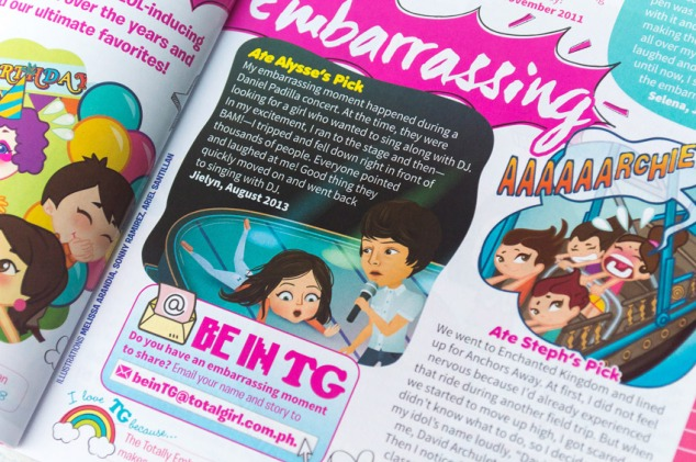 """Best of Totally Embarrassing"", story and illustration from the August 2013 issue"