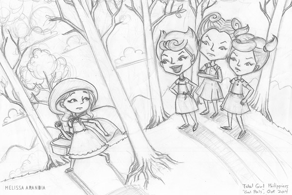 "sketch—""Big Bad Bullies"""