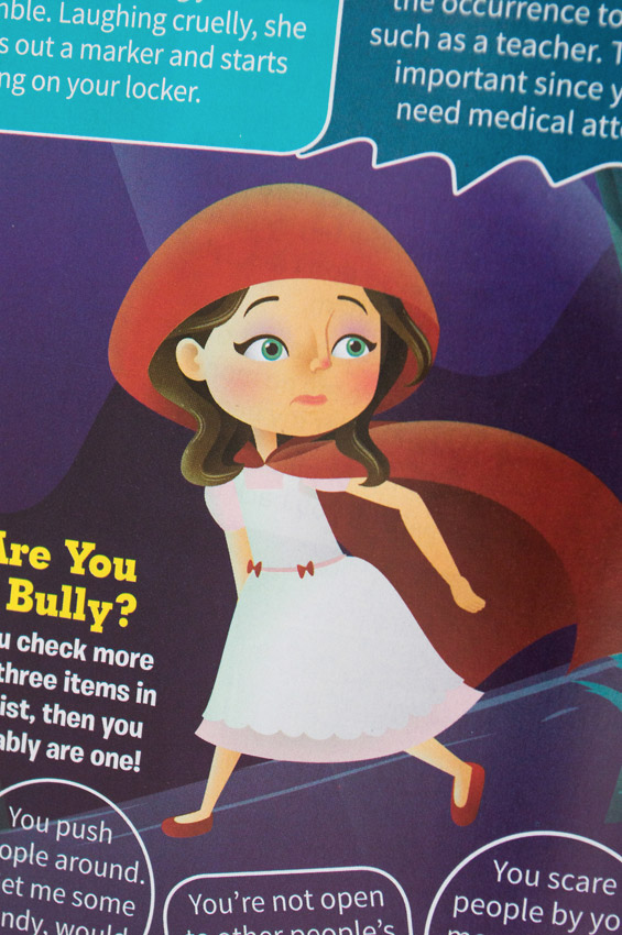 "closeup—""Big Bad Bullies"" article illustration"
