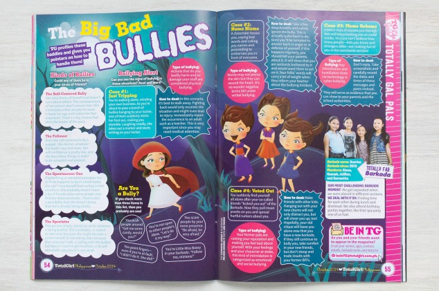 """Big Bad Bullies"" article illustration"