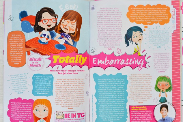 """Totally Embarrassing"" Total Girl Philippines, April 2015"
