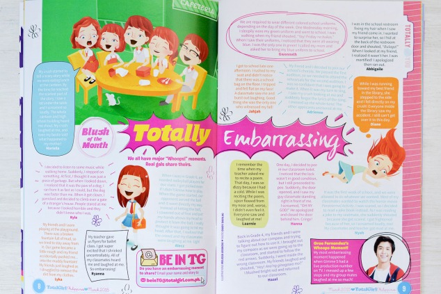 "Total Girl Philippines, March 2015–""Totally Embarrassing"""